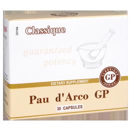 Иммуностимулятор,противовирусное,антибактериальное,противогрибковое средство Pau d'Arco GP (30)351 Действия: иммуностимулятор, обладает противовирусным, антибактериальным и противогрибковым действием, содержит рутин, защищающий капилляры Показания: ослабленный иммунитет, герпетическая инфекция, воспалительные процессы в верхних дыхательных путях, для профилактики гриппа, раздражение слизистой оболочки горла и кашель курильщика, кожные проблемы.